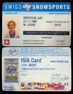 nomad snowboard, bardoux joel, joel bardoux, nomad snowboard, nomadsnowboard, ISIA card, ISIA, ISIA carte, diplôme, expérience
