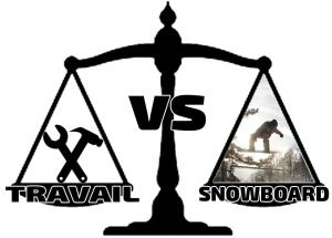 travail snowboard, métier snowboard, emploi snowboard, balance snowboard travail