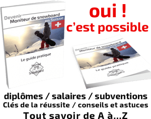 formation moniteur de snowboard, diplôme moniteur de snowboard, diplôme français snowboard,