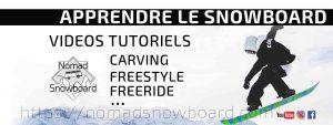 Apprendre le snowboard, Tutoriels pour apprendre le snowboard, tutos
