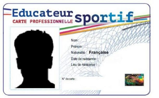 Instructeur De Snowboard La Carte Professionnelle