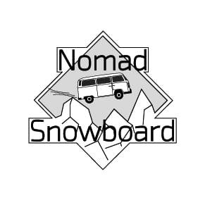 logo nomad snowboard, tutoriel video, tuto video, tutoriel snowboard, tuto snowboard