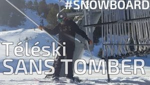 nomad snowboard, snowboard comment prendre un téléski sans tomber, snowboard comment prendre un tire fesse