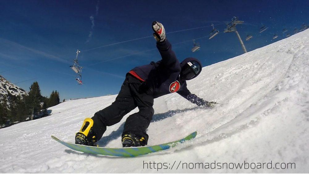comment faire un revert carve, apprendre à carver en snowboard, comment bien carver en snowboard,
