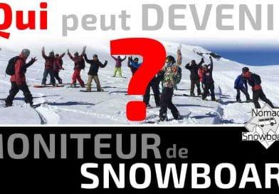 Qui peut devenir moniteur de snowboard