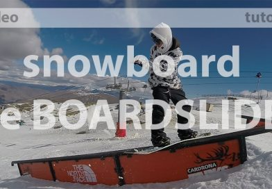 nomad snowboard, comment faire un board slide en snowboard, tutoriel