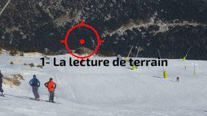 snowboard, lecture de terrain pour ne pas déchausser la fixation arrière