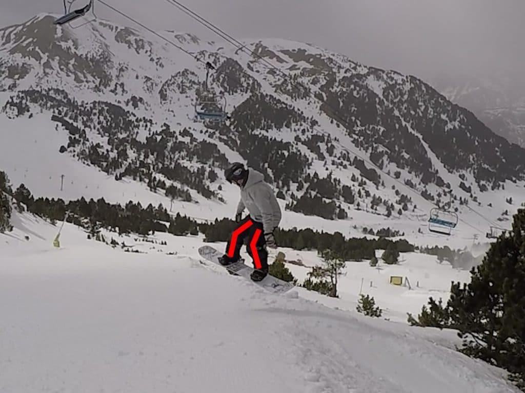 phase aerienne 3, snowboard, saut en bord de piste, side hit, nomad snowboard