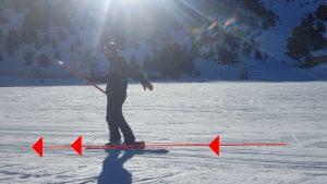 snowboard : rester droit pendant la montée d'un téléski