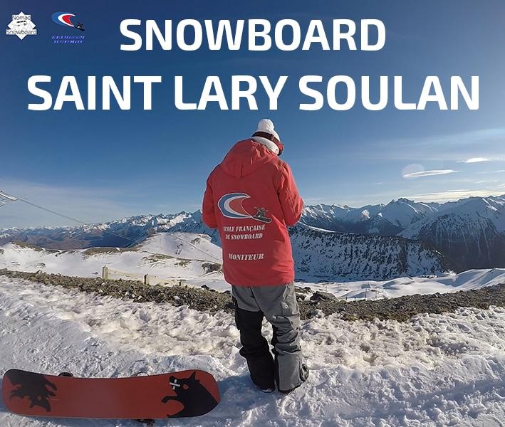 Saint Lary Soulan, snowboard
