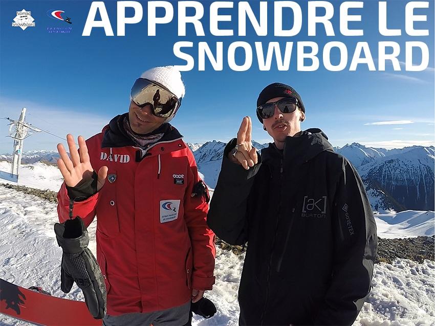 apprendre le snowboard