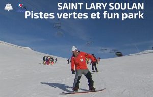 Saint Soulan piste vertes, snowboard, Ecole Française de snowboard