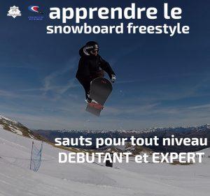 apprendre le snowboard freestyle