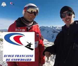 ecole française de snowboard, apprendre le snowboard, snowboard en France