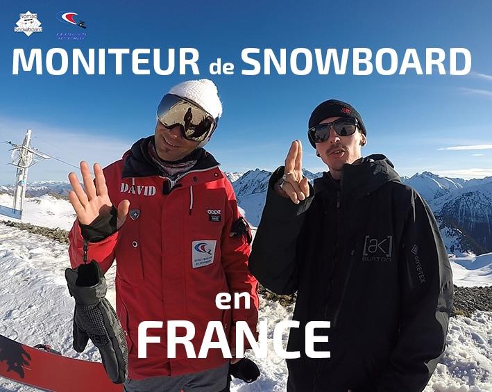 snowboard en France