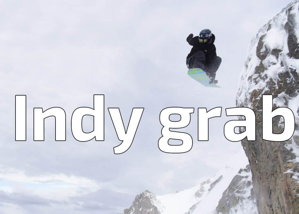 indy grab, snowboard, tricks, grab, nomad snowboard, snowboard tutoriel