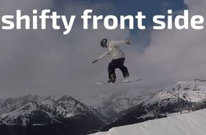 shifty, shifty front, shifty front side, snowboard, snowboard tricks